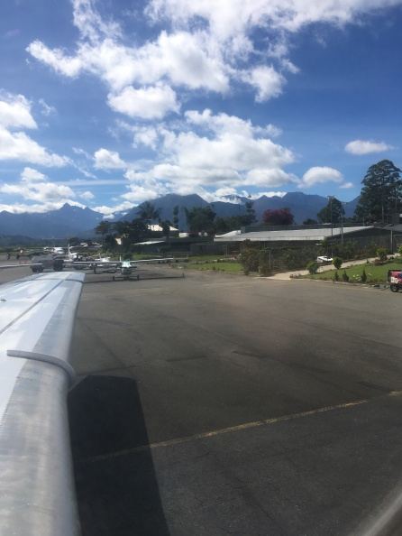 The airport at Mt. Hagen